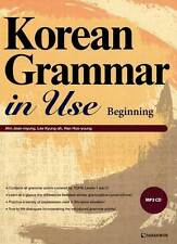 Korean Grammar in Use with MP3 CD Beginning to Early Intermediate Text Book
