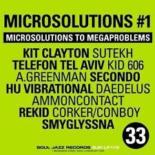 SOUL JAZZ RECORDS PRESENTS/MICROSOLUTIONS TO MEGAPROBLEMS 1  CD NEU