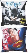 BATMAN Vs SUPERMAN CLASH KISSEN - KINDER SCHLAFZIMMER JUNGEN BETT FILM SPIELEN