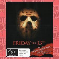 Friday the 13th Boxset  - BLU-RAY - NEW Region B