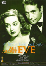 All About Eve (1950) - Bette Davis, Anne Baxter - DVD NEW