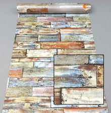 Papiertapete 7319-06 Erismann Tapete Holz Dielen Modern braun rot 731906 Ahaus