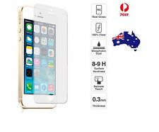 2X Genuine Tempered Glass Screen Protector for Apple iPhone 5/5c/5s/SE