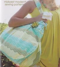 PATTERN - Field Bag & Tote - gorgeous and useful bag PATTERN - Amy Butler