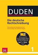 Duden 01. Die deutsche Rechtschreibung DHL-Versand PORTOFREI