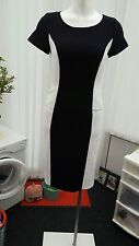 "Ladies ""Papaya Weekend"" White and Black Office Dress (Size 8)"