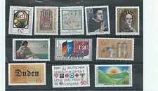 West Germany stamps. 1980 lot MNH (X793)