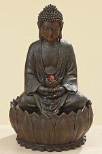 Buddha Brunnen  LED   Figur Dekoration Beleuchtung Garten Neu