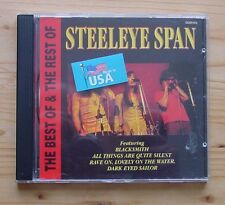 Steeleye Span -- The Best Of & The Rest Of - CD Sehr gut!