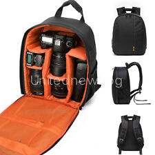 Waterproof Shockproof DSLR SLR Camera Backpack Bag Case for Canon Nikon Sony
