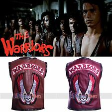 THE WARRIORS SYNTHETIC LEATHER VEST JACKET + Free Shipping - IN TWO COLORS