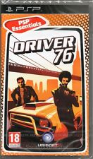 DRIVER 76 RACING GAME PSP ~ NEW / SEALED