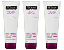 3 x TRESSEME 250mL YOUTH BOOST CONDITIONER RECHARGES YOUTHFUL FULLNESS BRAND NEW