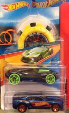 Mattel Hot Wheels Track Aces HW Race Multipack 2 Fahrzeuge+Stoppuhr Gelb Autos