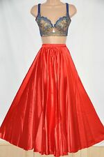 Huge sweeping silky soft satin petticoat, BN, red
