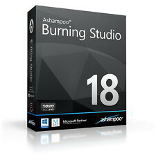 Ashampoo Burning Studio 18 dt.Vollversion ESD Download 19,99 statt 49,99 EUR UVP