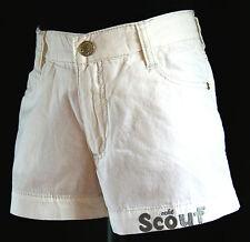 """""""Scout"""" Mädchen Shorts Bermuda Hot Pants kurze Jeans Hose Weiß Gr.128 """"NEU"""""""