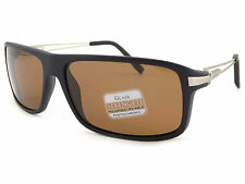 Serengeti Polarized Photochromic Rivoli Sunglasses Satin Black / Drivers 7766