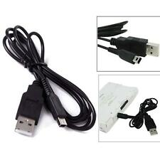 USB Charger Power Cable Cord Plug for Nintendo 3DS / DSi / DSi LL / XL Black SP