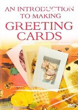 AN INTRODUCTION TO MAKING GREETING CARDS * NEW & SEALED DVD