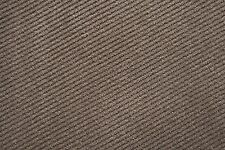 Upholstery Fabric - Stripe Suede Coffee (15m)