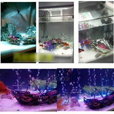 Boat Ornament Ship Wreck Sunk Aquarium Air Split Shipwreck Fish Tank Cave Decor