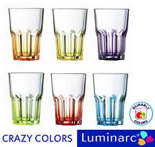 Luminarc Crazy Colors Trinkgläser,300 ml,mehrfarbig,Partygläser,Whiskygläser,NEU