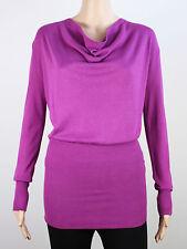 Full Circle womens Size 10 Small lightweight knit fushia cardigan