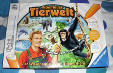 tiptoi Spiel Abenteuer Tierwelt Ravensburger Kinder Lern neuwertig