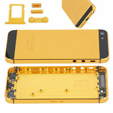 Gold Replacement Battery Door Housing Back Cover Case Metal Part For iPhone 5S