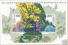 BRD 1997: Deutscher-Wald-Block Nr 38 mit Bonner Ersttags-Sonderstempel! 1A! 1510