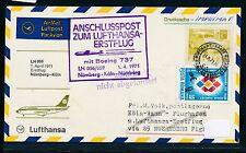 95535) LH FF Nürnberg - Köln 1.4.71, SoU ab Rumänien