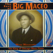 CD BIG MACEO MERRIWEATHER - the best of, king of chicago blues piano