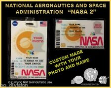 movie  NASA #2..ID badge & wallet size ID card