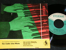 PUCHELT Mendelssohn Bartholdy - Vier Lieder ohne Worte / DDR SP'62 ETERNA 520435