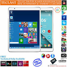 TECLAST X98 PLUS 3G 64GB INTEL Z8300 DUAL OS WINDOWS 10 ANDROID 5.1 TABLET PC