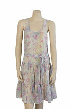 Womens Saba Sheer Floral Dress - Size 8