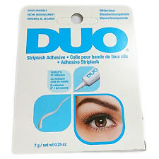 DUO Lash Adhesive Clear Glue Stick on False Lashes Salon Look Ardell 7gm
