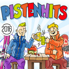 CD Pistenhits 2016 von Various Artists  2CDs