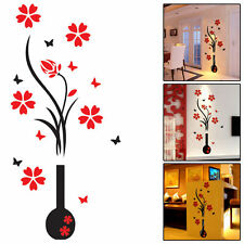 3D Flower DIY Wall Sticker Decal Art Decor Vinyl Home Office Window Door Mural
