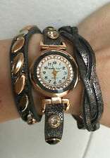 Mary Kay Damenuhr Retro Vintage Wickelarmband Wickeluhr Quarz