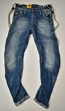 G-STAR RAW - Arc 3D Loose Tapered Braces - Vintage Look Jeans W32 L34 Neu !!!