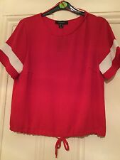 Atmosphere, Beautiful New with tags Ladies Red Top, sise 12