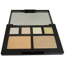 W7 Glow For Glory Illuminating Face, Cheeks & Shimmering Eye Shadow Palette