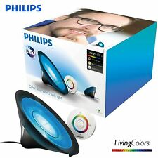 Philips LivingColors Aura Lamp Home Mood Colour Changing Ambiance Lighting Black
