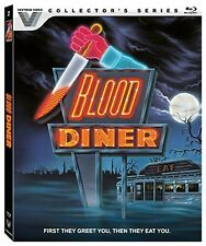 BLOOD DINER  (Vestron Collector's Series) Region A - BLU RAY