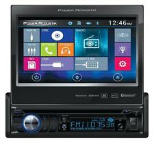 "NEW Power Acoustik PD-724HB 1 DIN FLIP UP OUT CD/DVD Player 7"" Bluetooth Android"