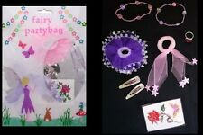 Fairy Party / Loot Bag Filled with 8 Pieces / Favours for Parties - New & Sealed