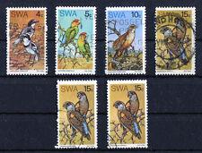Namibia Südwestafrika 392 - 395 gestempelt Motiv Vögel Michel 62,00 € used