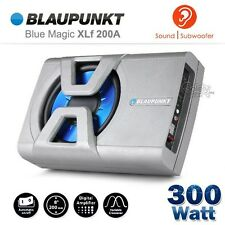 "BLAUPUNKT XLF 200A 300W 8"" Compact Active Car Sub Subwoofer (built-in) Amplifier"